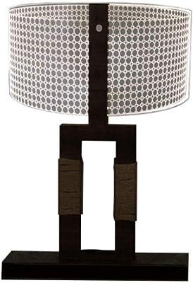 BFMBCHDJ Lámpara de mesa Cactus Decor 3D LED Luz de noche Romantic ...