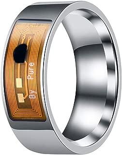 multifunktional tragbare Finger Digital Ring Smart Doorbell f/ür Android und Windows Phones mit NFC Funktion wasserfest JXFS NFC Smart Ring intelligenter Ring f/ür Damen und Herren