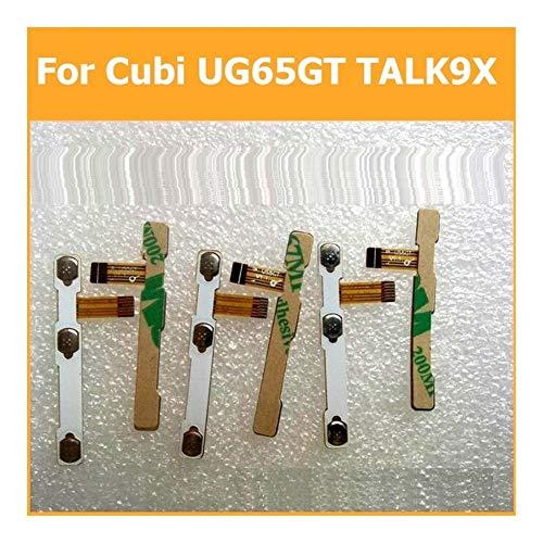 DressU Ursache Schalter ausschalten Energien-Volumen-Knopf-Flexkabel for Cubi U65GT TALK9X leitfähiges Flex mit Aufkleber Ersatzteilen Unterschied