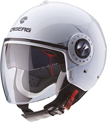 CABERG RIVIERA V2+ Jethelm - weiß Größe XL