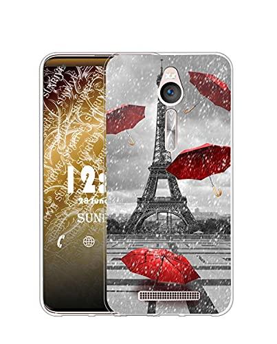 Sunrive Funda Compatible con ASUS Zenfone 2 Laser ZE550KL, Silicona Slim Fit...