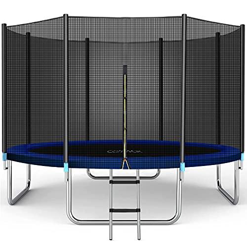 CalmMax Trampoline 8FT Jump Recreational Trampoline with...