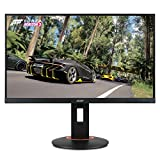 Acer XF250Q Cbmiiprx 24.5' Full HD (1920 x 1080) Zero Frame TN Gaming AMD FreeSync Compatible Monitor - 1ms | 240Hz Refresh (Display, HDMI 2.0, HDMI 1.4 Ports), Black