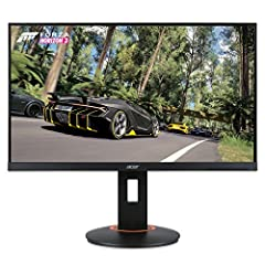 24.5 inches Full HD (1920 x 1080) widescreen TN monitor Mad FreeSync and G-Sync compatible 240 hertz using display port or HDMI 2.0 port Zero frame design; 1ms response time; 2 speakers, 2 watts per speaker Ports: 1 x display 1.2 port, 1 x HDMI 2.0 &...