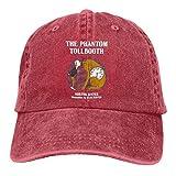 YINGSSMZ The Phantom Tollbooth Nortou Juster Illustrations by Jules Feiffer Denim Baseball Hat Black