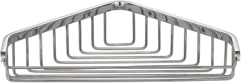 Simple Storage Rack, Bathroom Universal Stainless Steel Single-Layer Triangle Basket Bathroom Wall-Mounted Rack