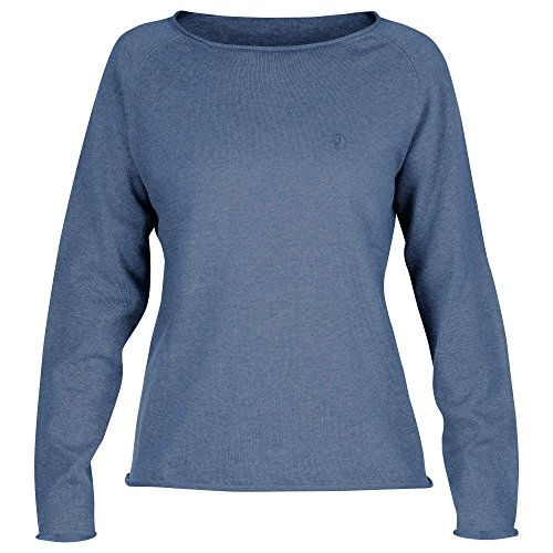 FJÄLLRÄVEN Damen Övik Sweater, Blue Ridge, M