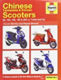Chinese, Taiwanese & Korean Scooters Service and Repair Manual (Haynes Service and Repair Manuals) by Phil Mather (9-Jun-2014) Paperback
