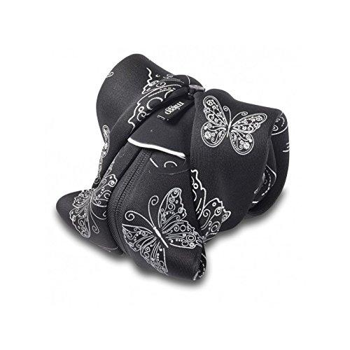 Miggo SR-CSCRW50- Funda para cámara Foto, diseño Mariposas, Color Negro