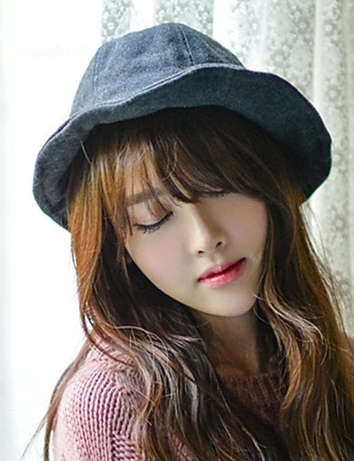 Suvsertu Summer Candy colord Cotton Woolen Personalized Witches Bucket Hats DSJ 1240