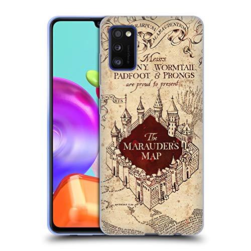 Head Case Designs Ufficiale Harry Potter The Marauder's Map Prisoner of Azkaban II Cover in Morbido Gel Compatibile con Samsung Galaxy A41 (2020)