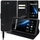 DOOGEE X5/ X5S/ X5 Pro Étui HCN PHONE Housse Portefeuille Etui Clapet Folio Livre Rabat Support Intégré pour DOOGEE X5/...