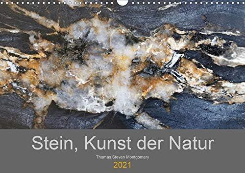 Stein Kunst Cash special price der Natur Wandkalender DIN Sale A3 2021 quer