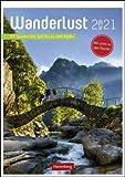 Wanderlust - Kalender 2021 - Harenberg-Verlag - Wochenkalendarium - mit 53 beschriebenen Touren - Wandkalender - 24,8 cm x 36 cm - Küchenkalender - Kulturkalender