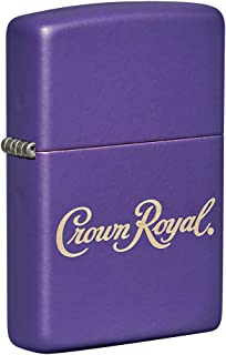Zippo Crown Royal Logo Pocket Lighter