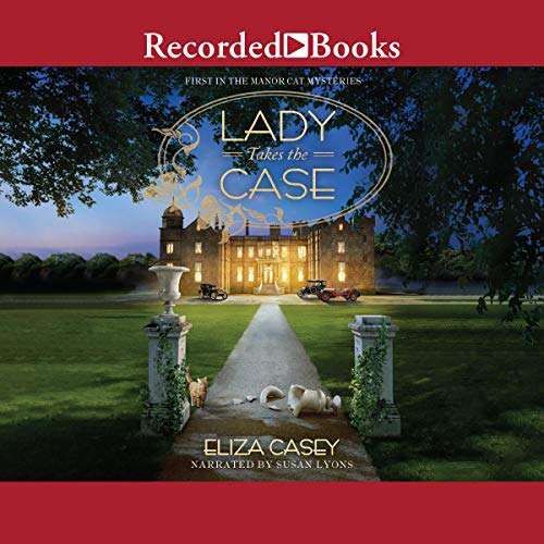 Lady Takes the Case audiobook cover art