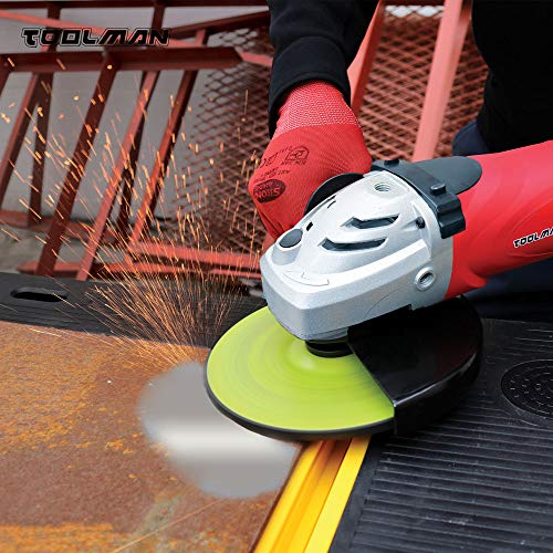 "Toolman Single Speed Angle Grinder 9"" 15A For Heavy Duty DB5018"