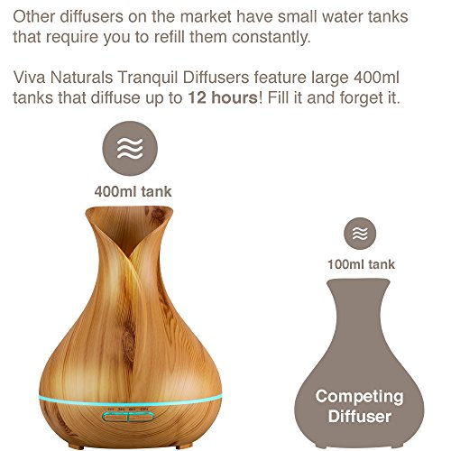 Diffuseur d'huile Essentielle Tranquil Viva Naturals - 6