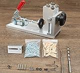 Holzbearbeitung Tasche Loch Jig System Guide Carpenter Kit Geneigt Loch Bohrer Werkzeuge Camp Base 9,5 mm Bohrer Kit HT174