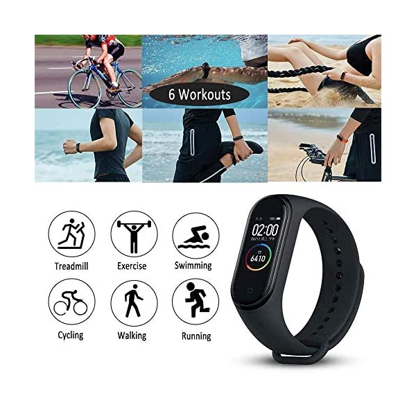 Original Xiaomi Smart Band 4, Adultos Unisex, Negro, Talla única 2