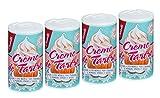 Castelló Since 1907 Crème de tartre - Pack 4 x 60 gr - Total: 240 gr