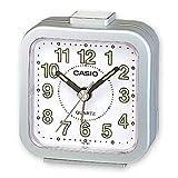 Casio - TQ-143-8EF - Alarm Clock - Quartz - analogue - Alarm - Black Rubber Strap