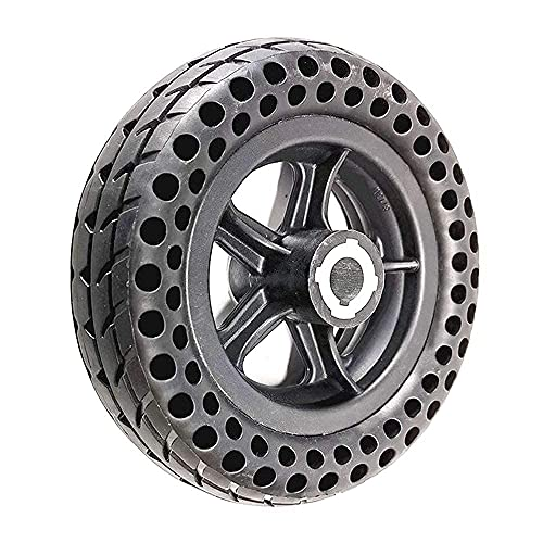 WYDM Neumáticos de Scooter eléctrico, s, 200x60 Juego de Ruedas de neumático sólido de Panal de Abeja, Compatible con Scooter/Robot/Equipo médico Elder de 8 Pulgadas, Rueda sólida de 19 mm
