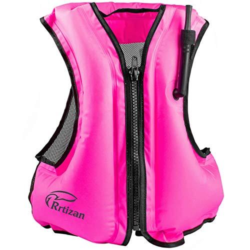 Rrtizan Swim Vest for Adults, Buoyancy Aid Swim Jackets - Portable...
