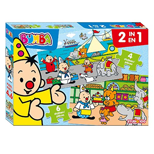 Bumba 2 in 1 puzzel (4 & 6 st.)