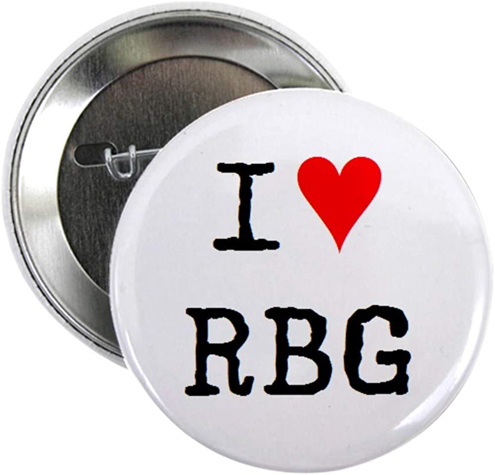 CafePress I 2021 new Love 67% OFF of fixed price Rbg Button 2.25 2.25