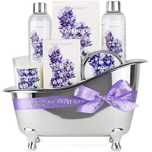 BODY & EARTH Set regalo baño mujer - Set baño ducha