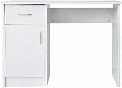 Bürotisch Computertisch 105x50cm IKEA MICKE Schreibtisch in weiß;