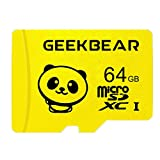 Tarjeta Micro SD de 32 GB, 64 GB, 128 GB, tarjeta de memoria 32 GB, C10, tarjeta TF de alta velocidad para smartphone, altavoz Bluetooth, tableta, PC/cámara (64 GB)