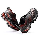 SMYH Zapatos De Seguridad,Zapatillas De Trabajo Transpirable Liviano para Hombres,Zapatos Casual,Negro