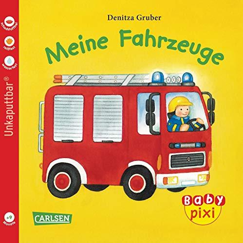 Baby Pixi 01: VE 5 Meine Fahrzeuge (5 Exemplare): Unkaputtbar
