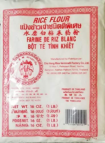 Thai Rice Flour Gluten Free Great for Cooking & Baking. Erawan Brand Rice Flour (3)