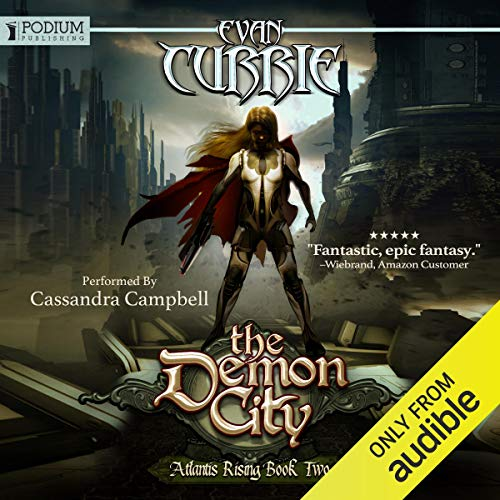 The Demon City audiobook cover art