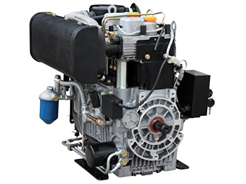 Rotek luftgekühlter 2-Zylinder Reihe 4-Takt 954ccm Dieselmotor, ED4-2R-0954-E-FS