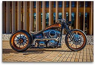 Calvendo HD 1800 CCM Black Pearl Monarch Bobber, 120 x 80 cm
