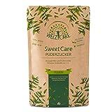 SweetCare PREMIUM Puderzucker - 250g - Zuckerersatz – 100% Vegan – keine Kalorien – Low Carb – mit Erythritol und Stevia – Made in Germany