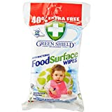 Greenshield Food Surface wipes 70 large 40% extra free