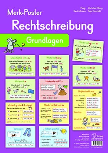 Merk-Poster Rechtschreibung – Grundlagen