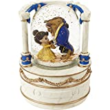 Precious Moments 203161 Disney Beauty and The Beast True Beauty is Found Within Resin/Glass Musical Snow Globe