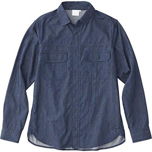 [ザノースフェイス] ロングスリーブダンガリーシャツ L/S Dungaree Shirt メンズ インディゴ 日本 M (日本...