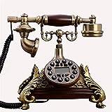 CMMWA Oficina Teléfono Fijo Europa Vintage Antiguo Teléfonos fijos Oficina en casa...