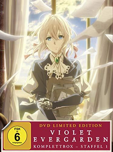 Violet Evergarden - Komplettbox Staffel 1 [Limited Edition] [4 DVDs]