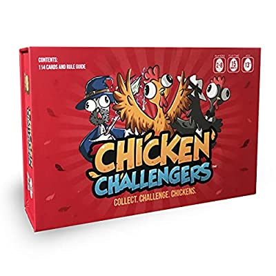 Chicken Challengers - A Family and Friends Party Card Game for Teens and Adults