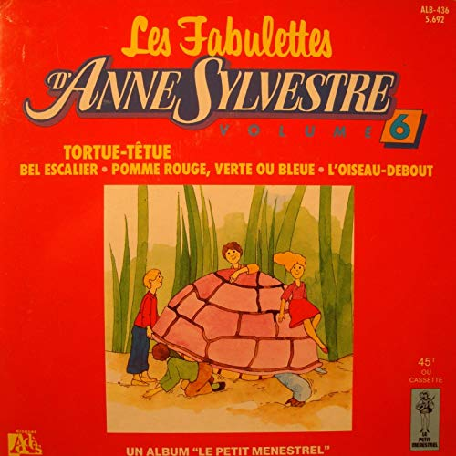 LES FABULETTES D'ANNE SYLVESTRE vol.6 - tortue-têtue/pomme rouge EP 7