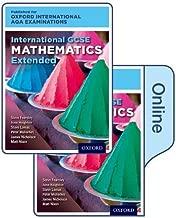 International GCSE Mathematics Extended Level for Oxford International AQA Examinations: Print & Online Textbook Pack
