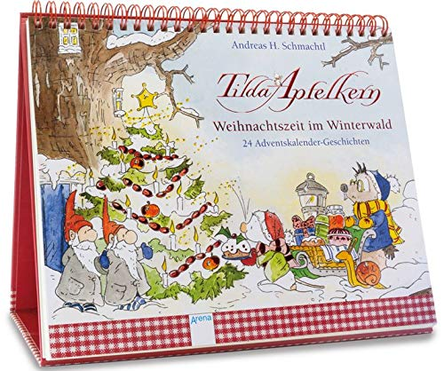 Tilda Apfelkern. Weihnachtszeit im Winterwald: 24 Adventskalender-Geschichten. Ein Adventskalender zum Aufstellen. Ab 3 Jahren
